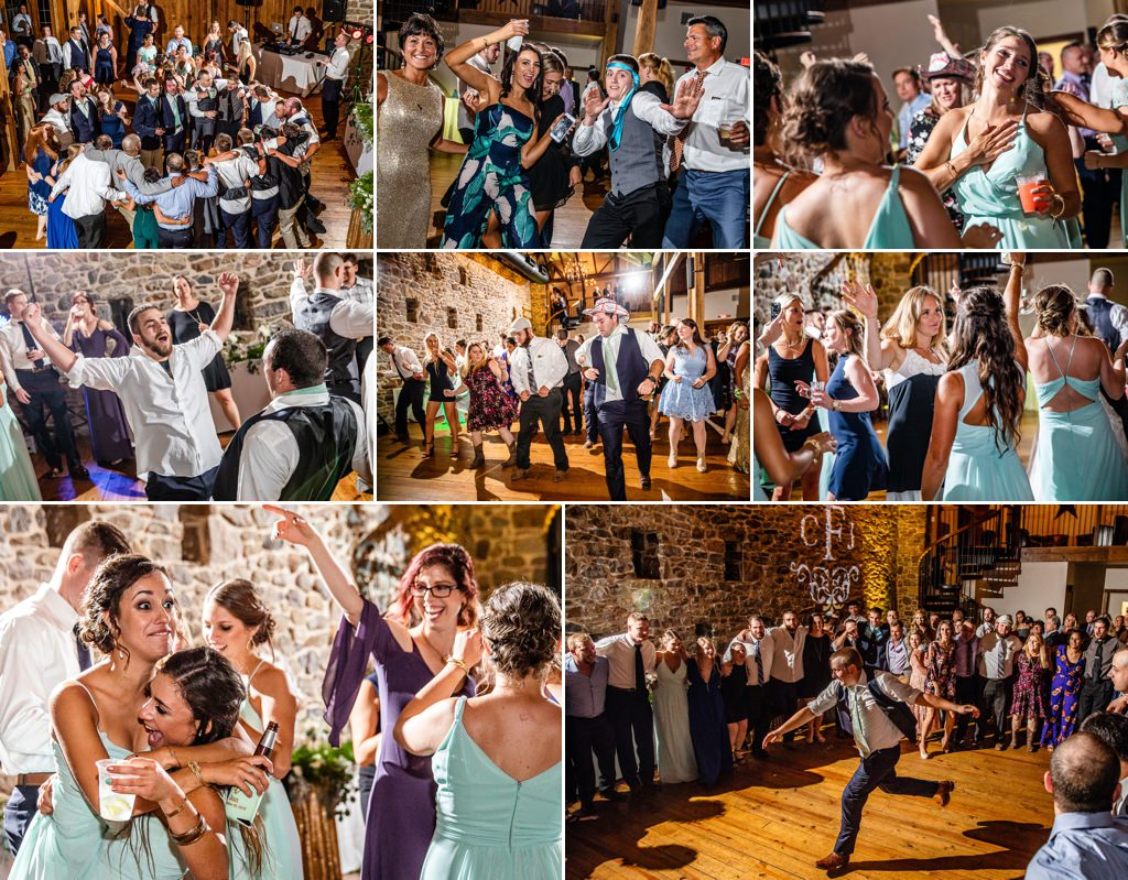 harvest view barn wedding reception