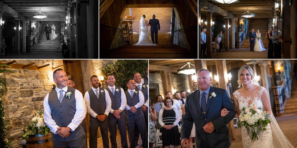 star-barn-grand-staircase-wedding-ceremony-photo