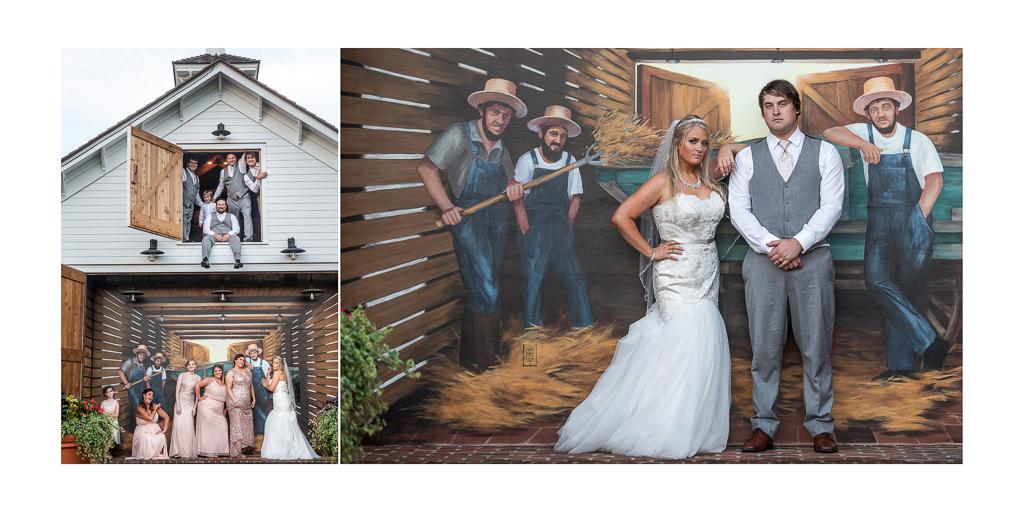wedding-star-barn-village-fun-bridal-party
