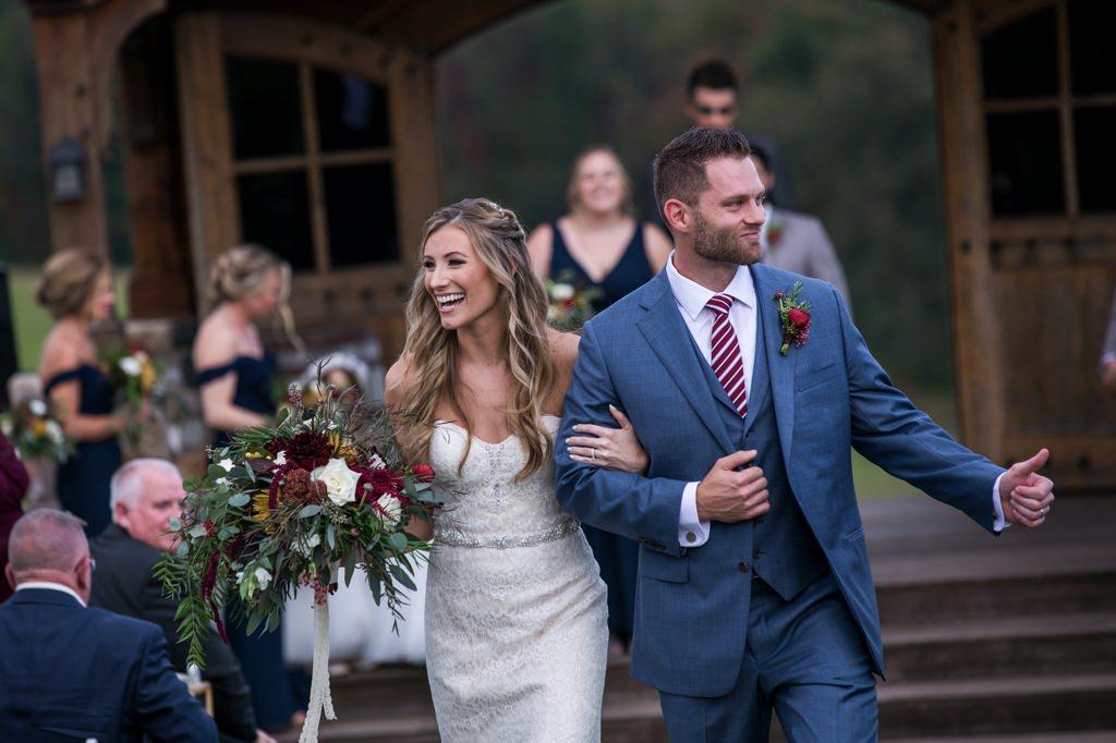 wedding ceremony wyndridge farm