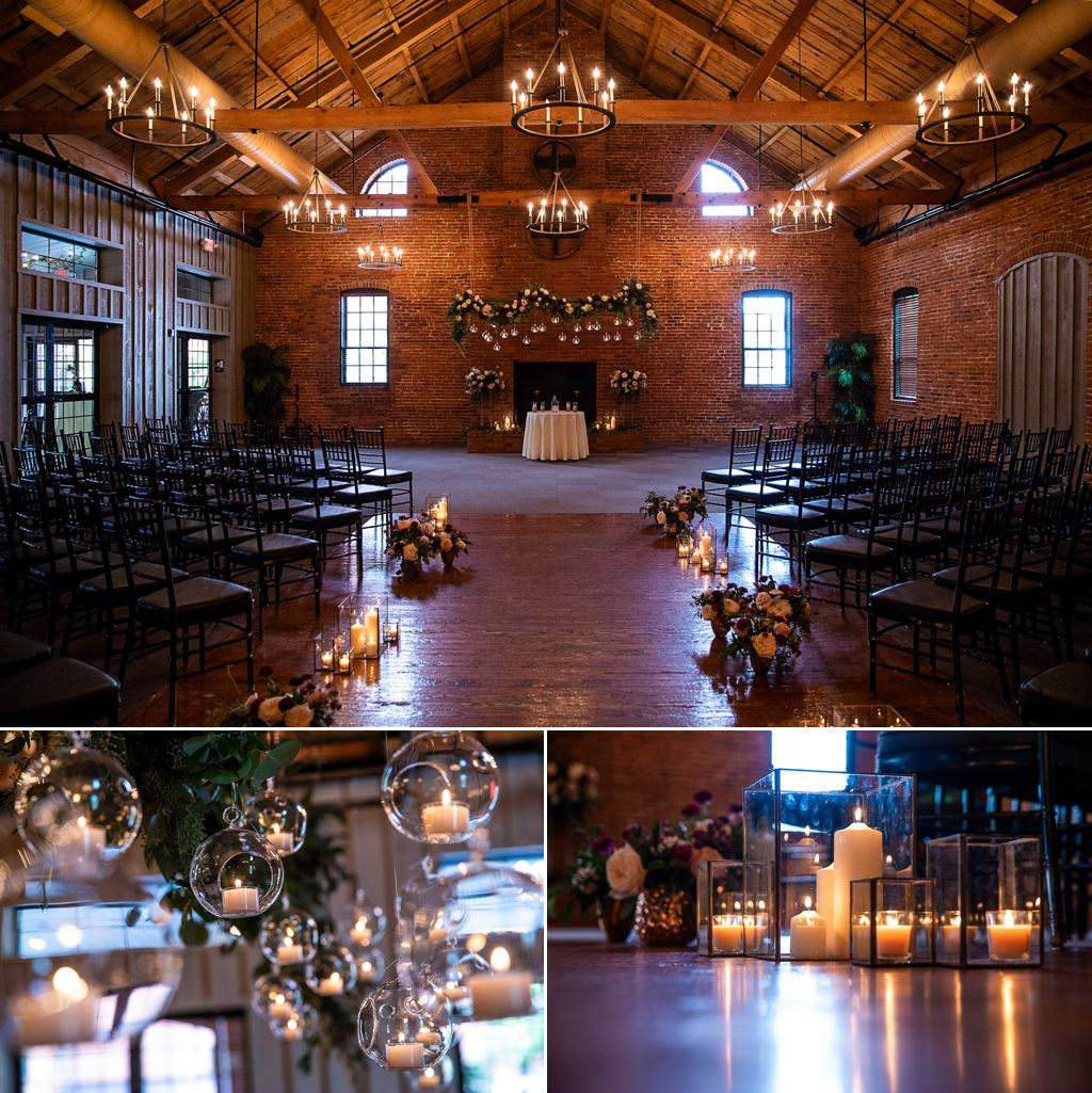the cork factory wedding ceremony details