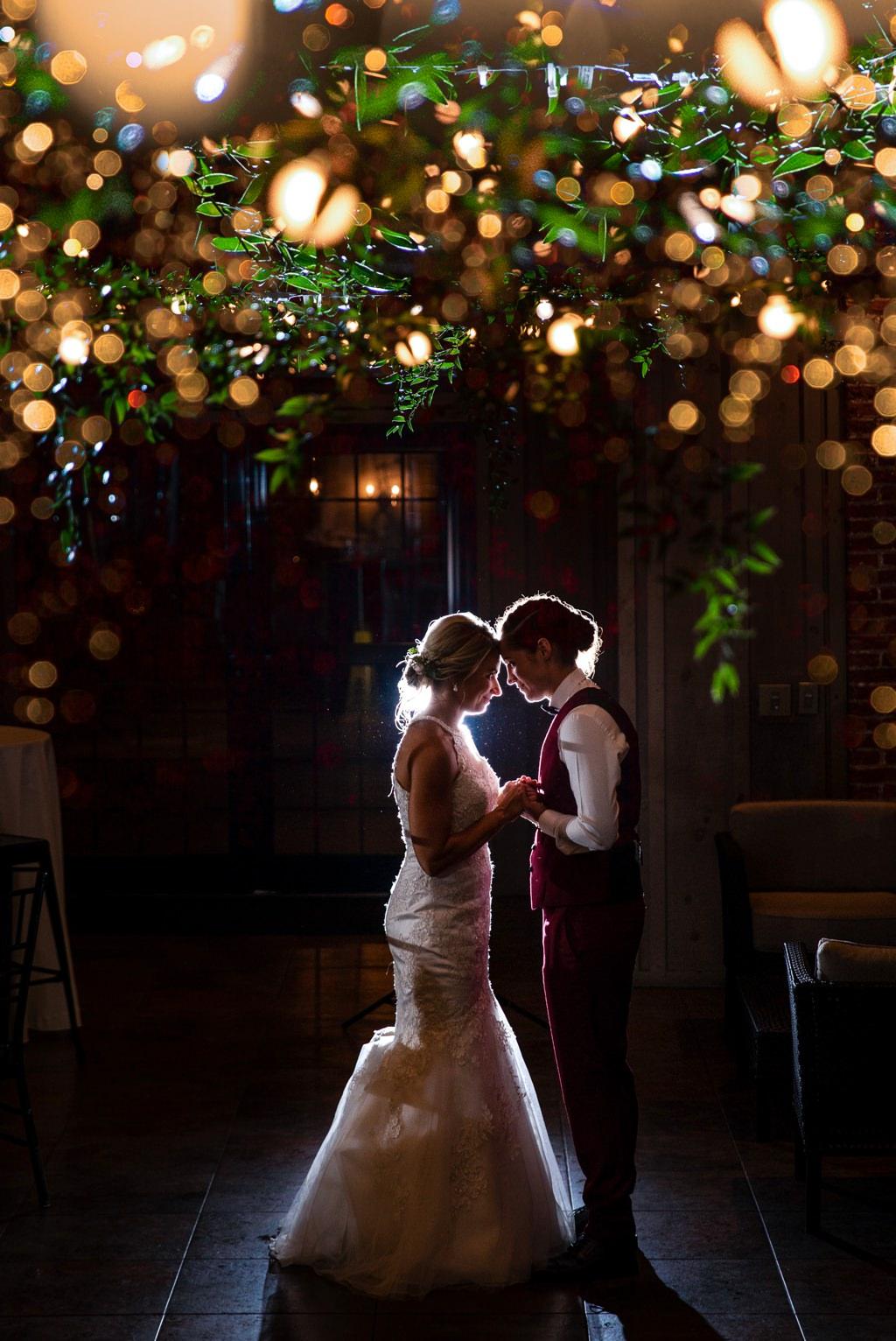 the cork factory wedding photo
