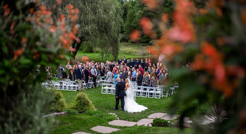 historic acres wedding ceremony